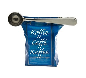 Koffiedoseerder met zakknijper