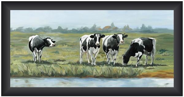 Wonen deco wanddecoratie schilderijen schilderij 40x80 koeien - Deco schilderij slaapkamer kind ...