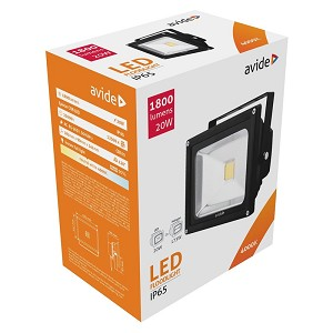 Avide LED Flood LightNW 4000K 20W 1800lm