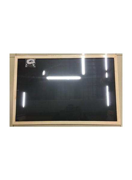School & kantoor u003e schrijfwaren u003e krijt u003e schoolbord 40x60cm met houte