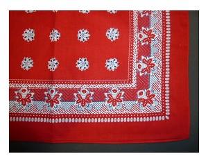 Boerenzakdoek Rood 55x55cm Pak A 12st Dagros Brunsting Groothandel